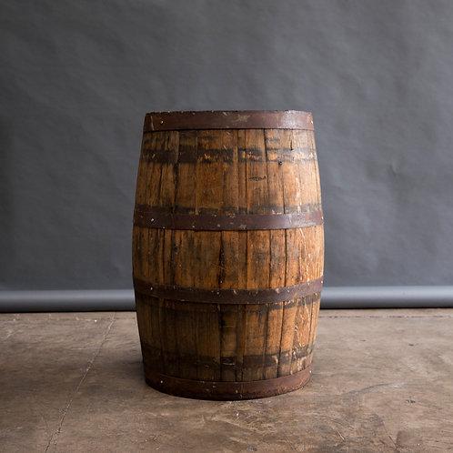 WEATHERED WINE BARREL