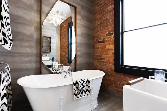 Rustic D7 Bathroom