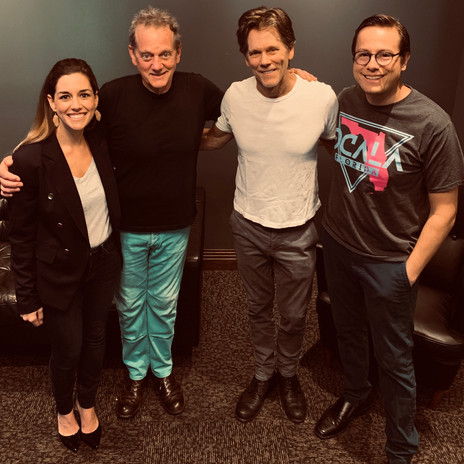 Matt and Pamela with the Bacon Brothers