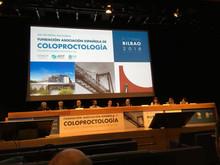 XXII Reunión Nacional de Coloproctología en Bilbao.