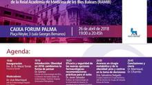 Mesa redonda sobre Obesidad Morbida en la Real Academia de Medicina de las Islas Baleares