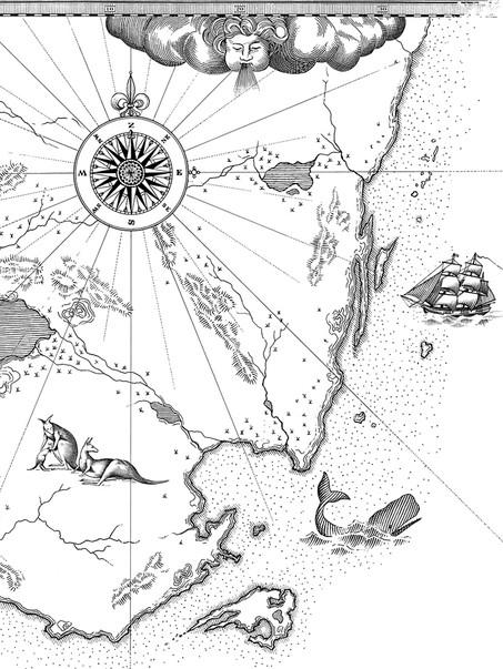 Australian Coastline Map