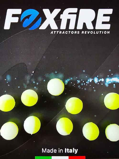 Foxfire Sfera 8 mm Bianco & Giallo
