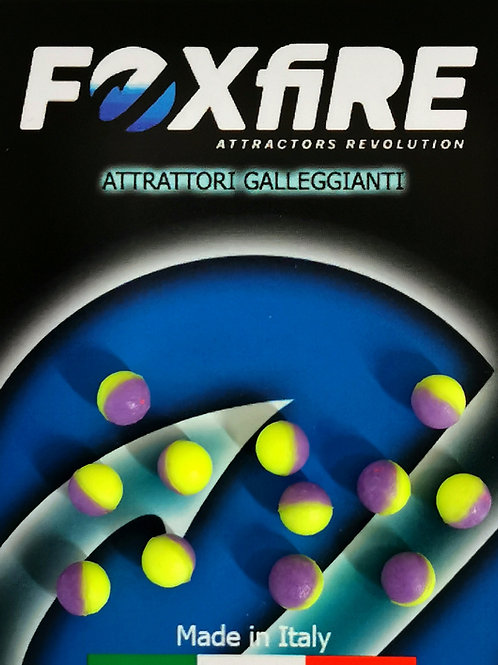 Foxfire Sfera 6,5 mm Giallo e Viola FLOATING