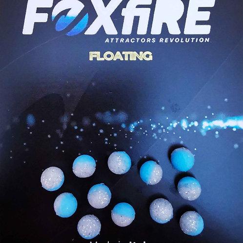 Foxfire Sfera 6,5 mm Azzurro & Argento Glitter FLOATING
