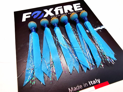 Foxfire Attractors Bait Sfera 6 mm Blue & Oro