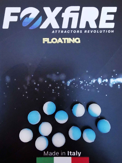 Foxfire Sfera 6,5 mm Bianco & Azzurro FLOATING