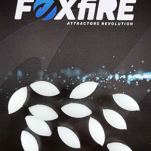 Foxfire Ovale 6 mm Bianco