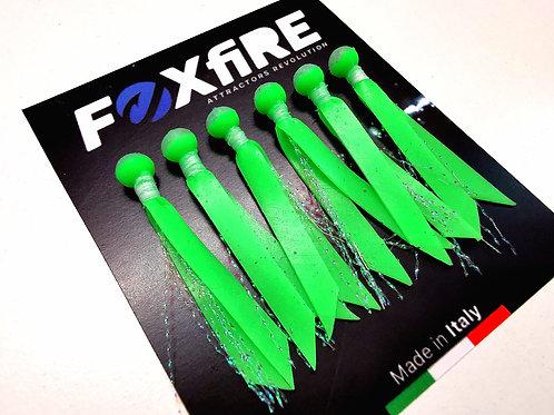 Foxfire Attractors Bait Sfera 6 mm Verde & Glitter Holographic