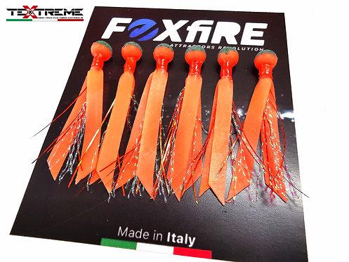 Foxfire Attractors Bait Sfera 6 mm Arancione & Verde Glitter
