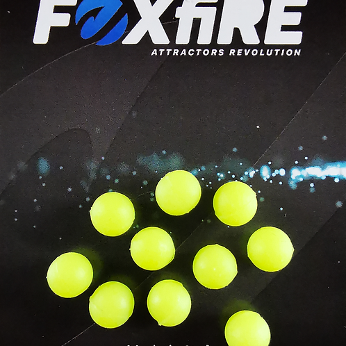 Foxfire Sfera 8 mm Giallo