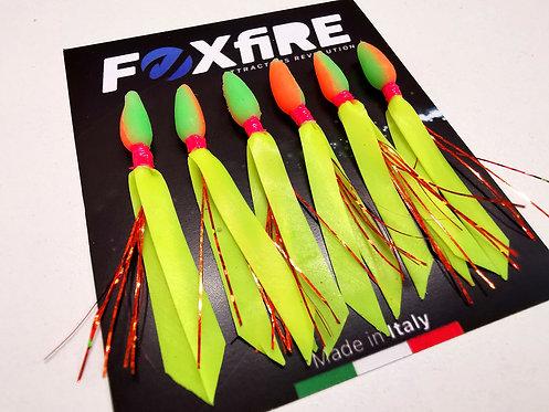 Foxfire Attractors Bait Drop 5 mm Arancione & Verde