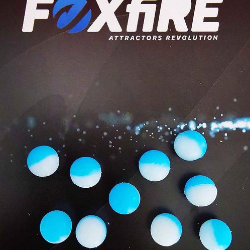Foxfire Sfera 8 mm Bianco & Azzurro