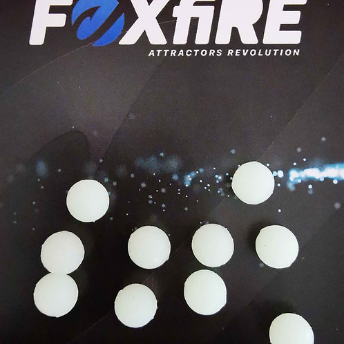 Foxfire Sfera 8 mm Bianco/Verde Potenziato