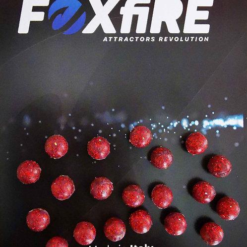 Foxfire Sfera 6 mm Rosso Glitter