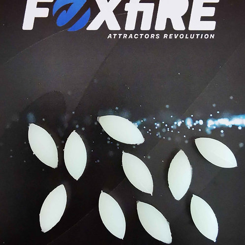 Foxfire Ovale 6 mm Bianco/Verde Potenziato