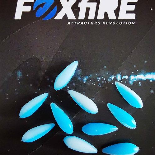 Foxfire Drop 5 mm Bianco & Blue