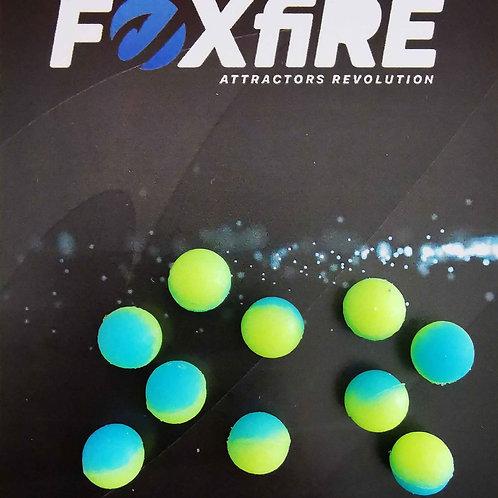 Foxfire Sfera 8 mm Giallo & Azzurro