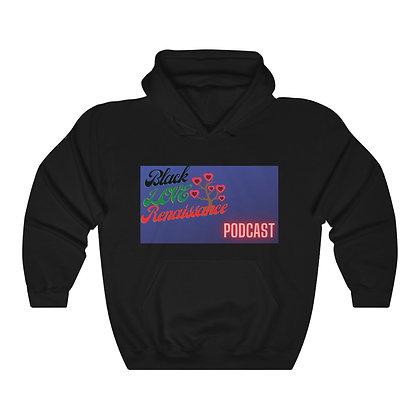 Black Love Renaissance Hooded Sweatshirt