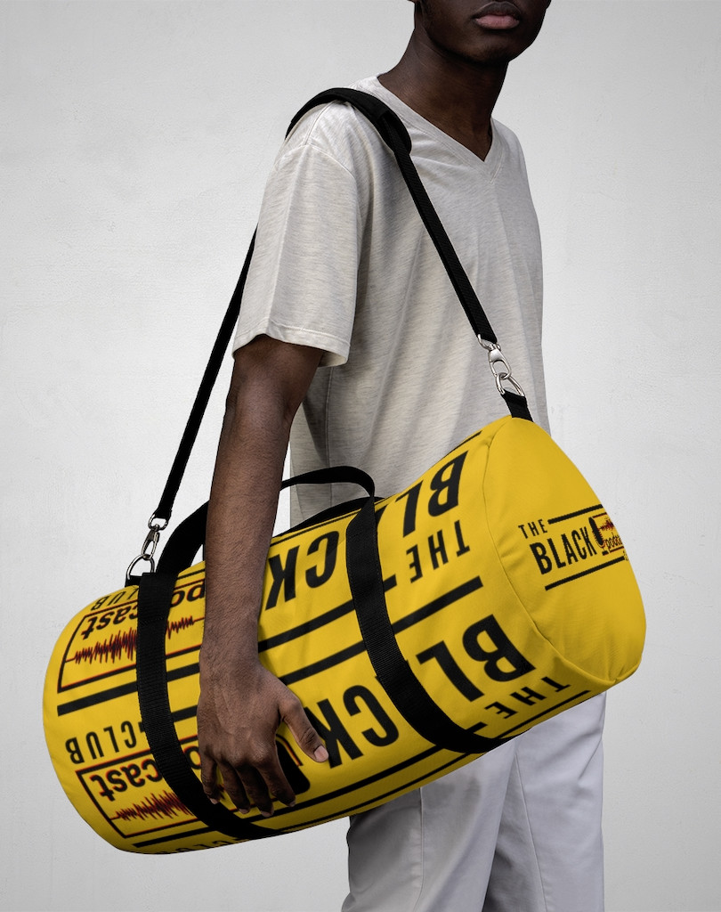 The Black Podcast Club Duffle Bag