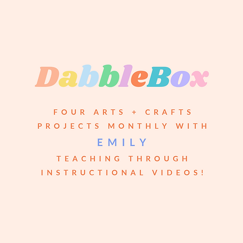DabbleBox : Starting at $55
