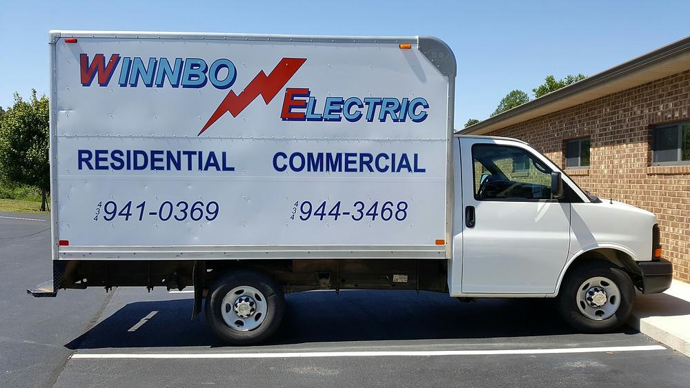 Box truck vehicle wrap.