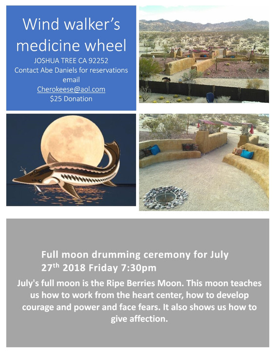 JOIN US FOR THE JULY FULL MOON