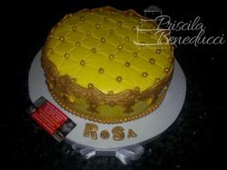 bolo amarelo dourado feminino pasta america rosa belo horizonte bh nova lima contagem betim priscila