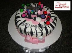 bolo maquiagem zebra pasta americana make cake belo horizonte bh nova lima betim contagem priscila b