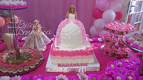 bolo barbie princesa boneca belo horizon