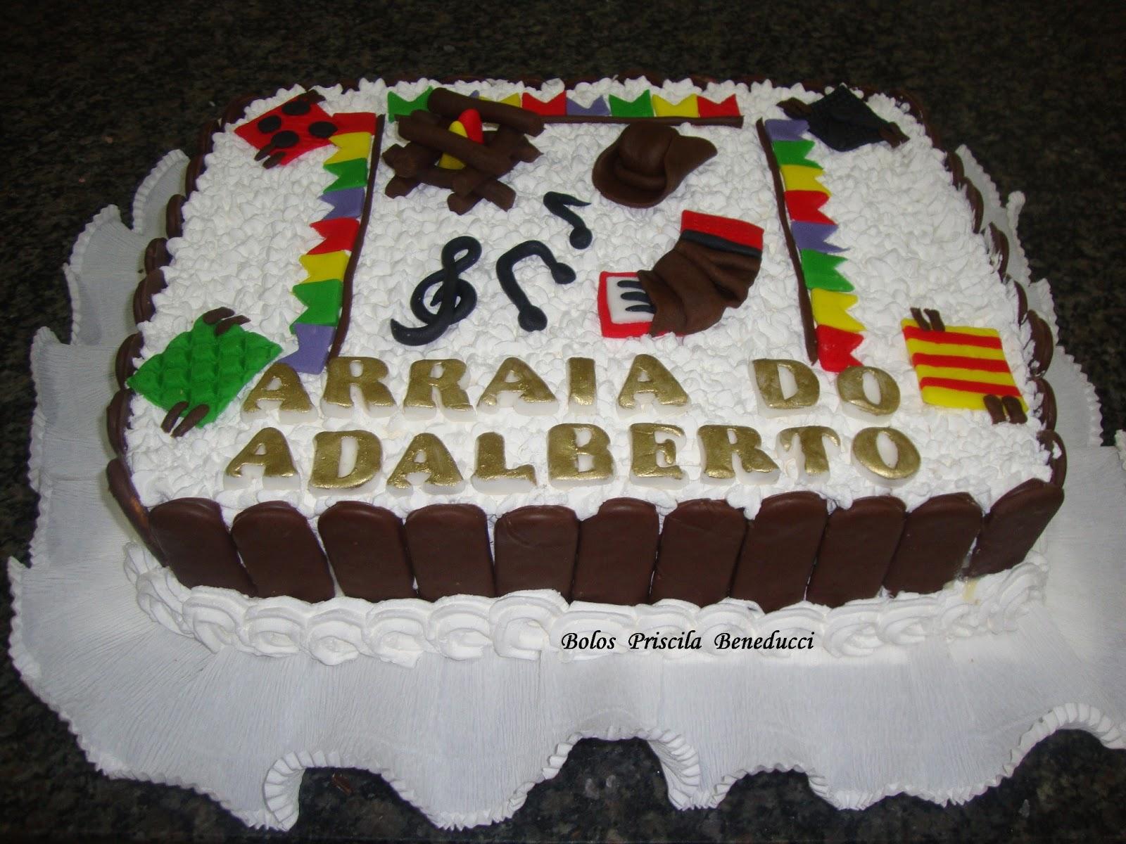 BOLO FESTA JUNINA DO ADALBERTO