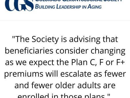 Plan F Special Enrollment Deadline Approaching