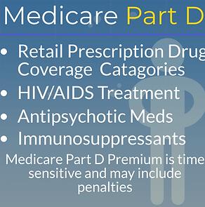 Medicare Part D Coverages