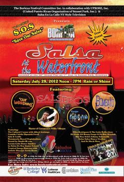 Boricua Festival 2012 Poster