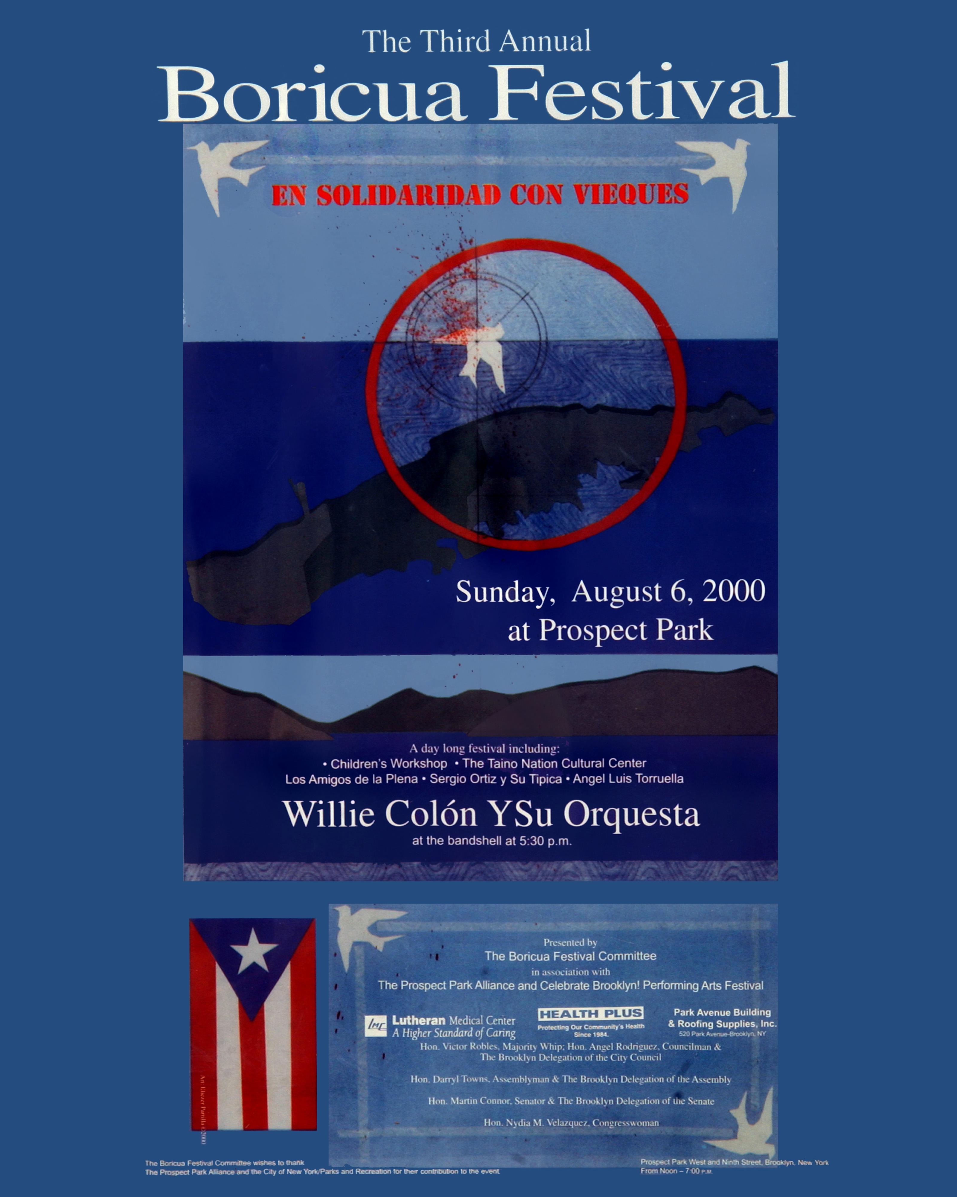 Boricua Festival 2000 Poster