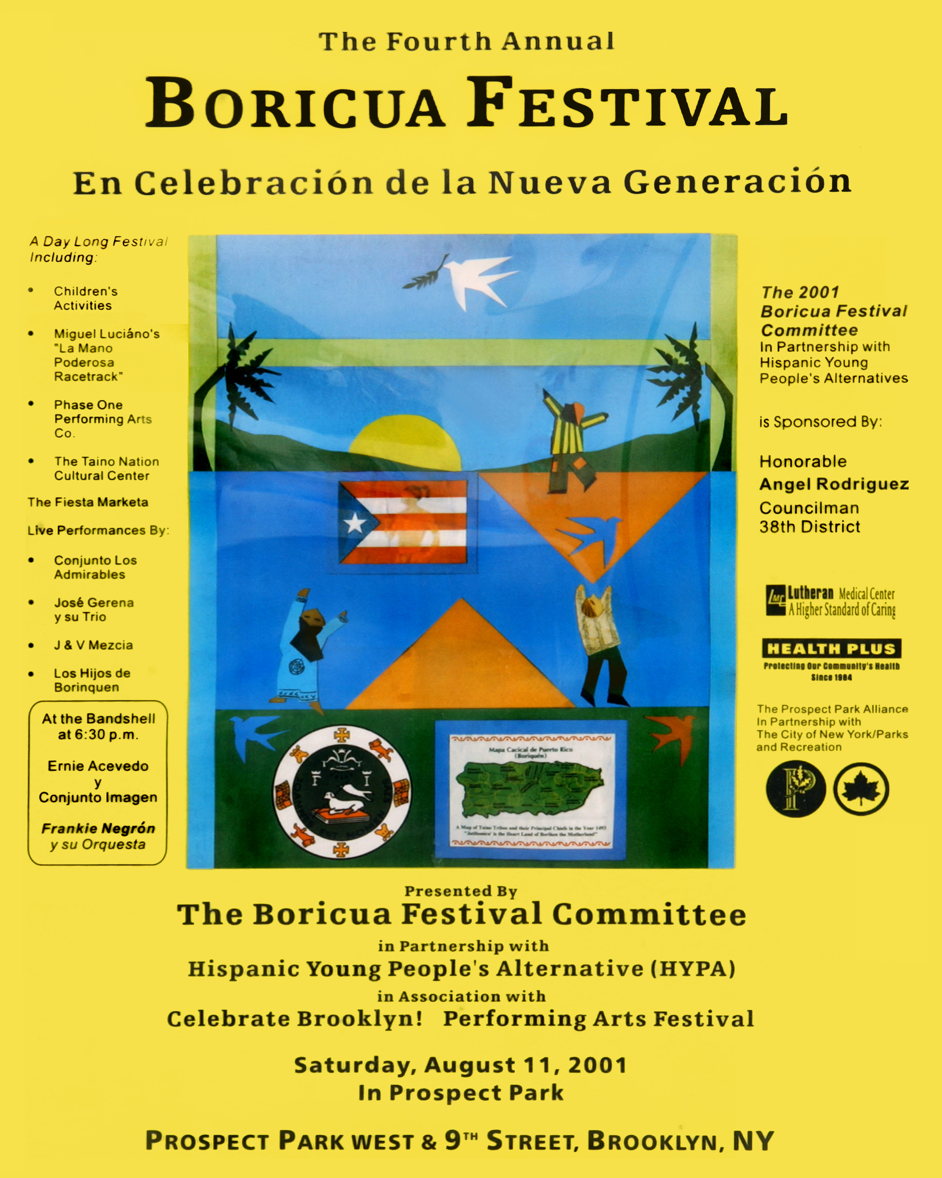 Boricua Festival 2001 Poster