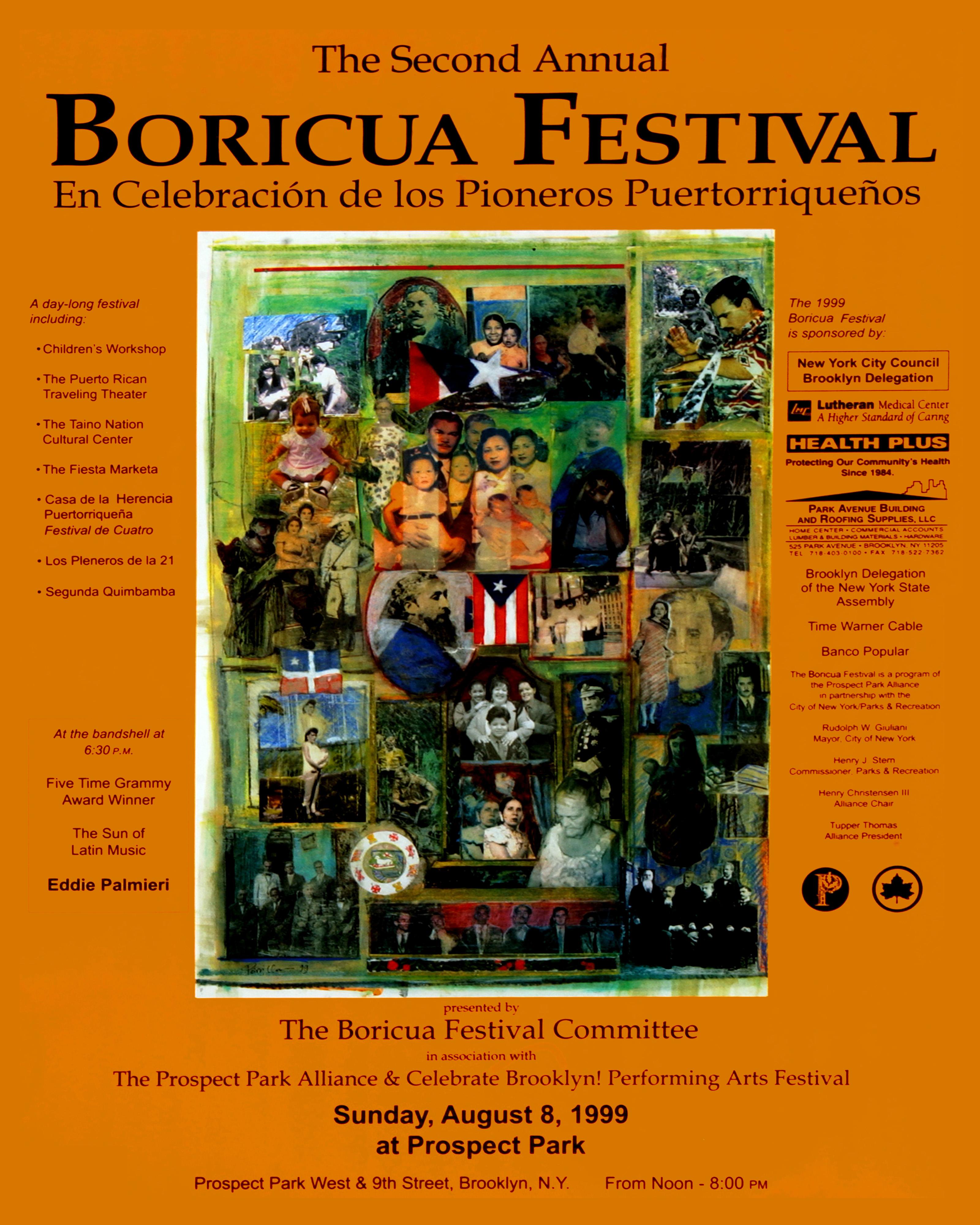 Boricua Festival 1999 Poster