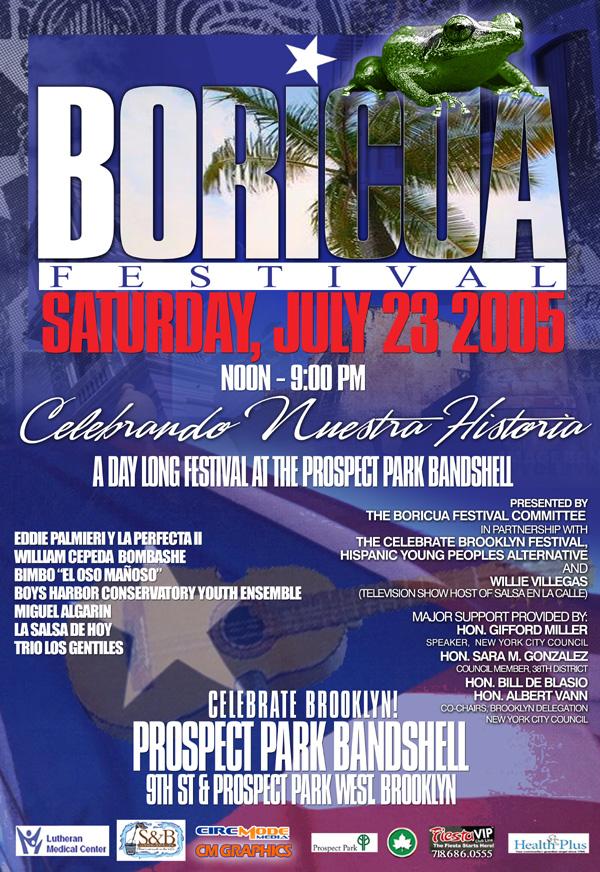 Boricua Festival 2005 Poster
