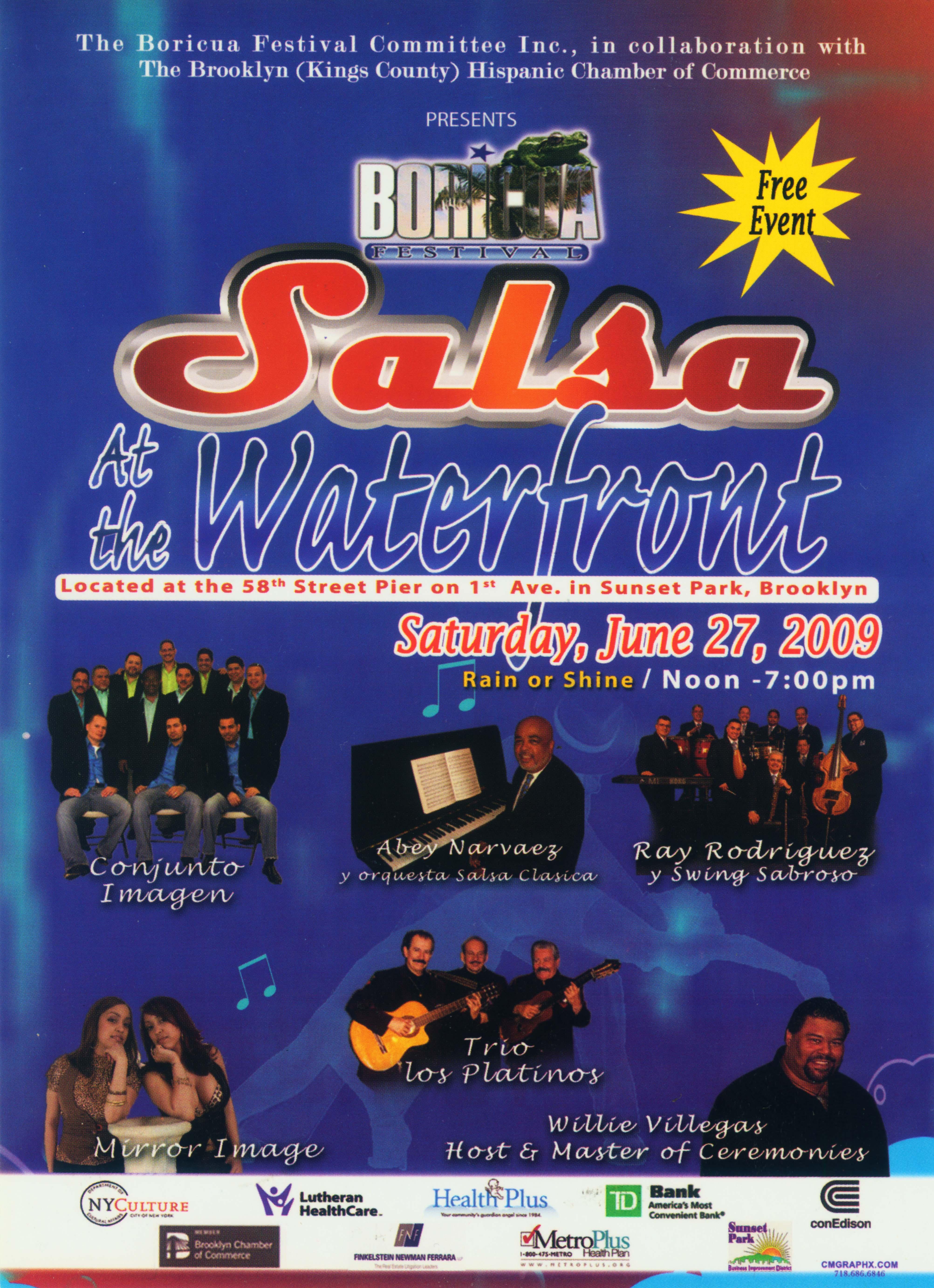 Boricua Festival 2009 Poster