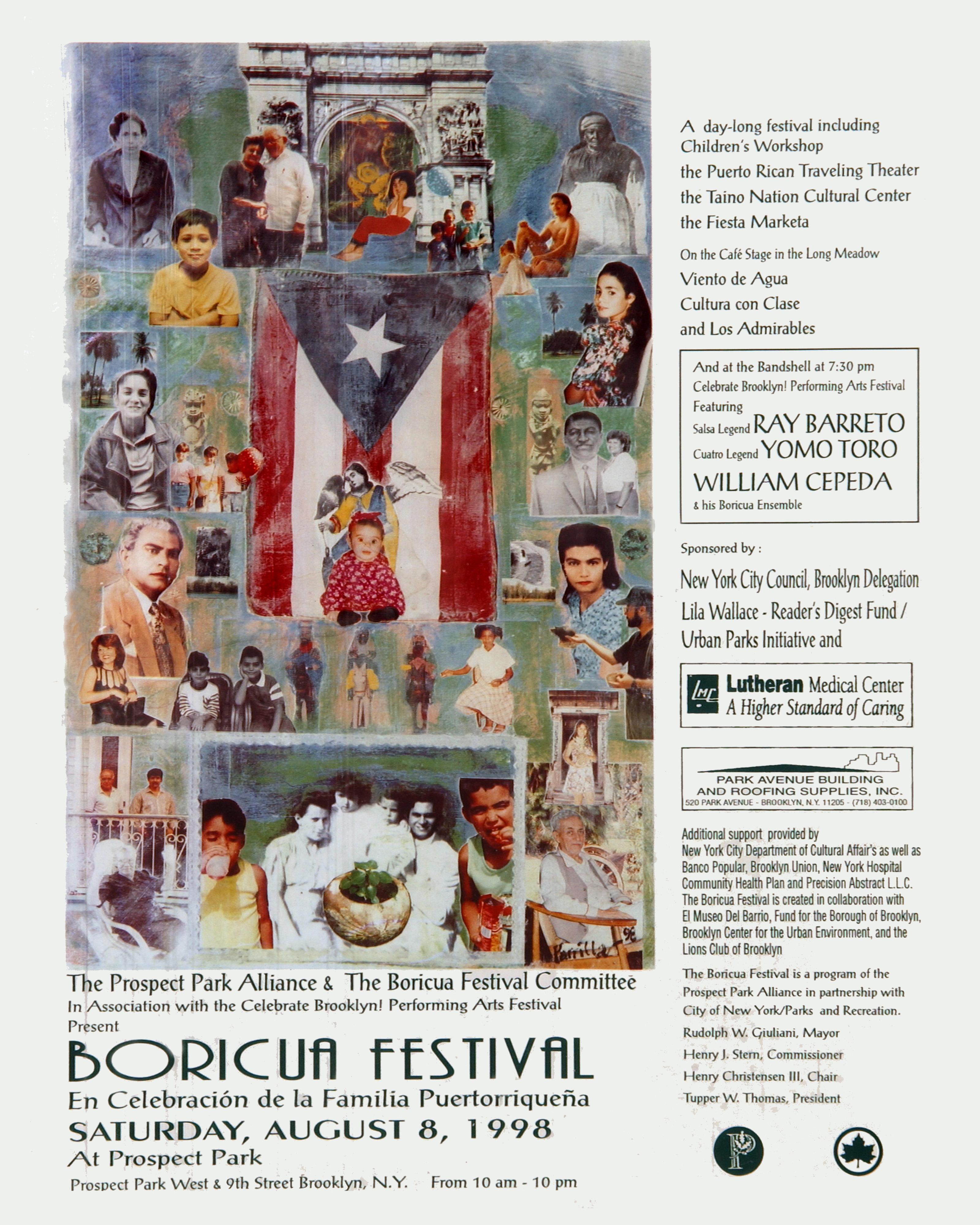 Boricua Festival 1998 Poster