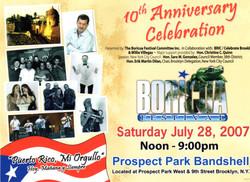 Boricua Festival 2007 Poster