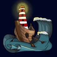 Lighthouse Digital drawing
