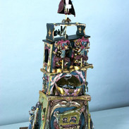 Fort Libellula Automaton Mechanical toy sculpture/ music box
