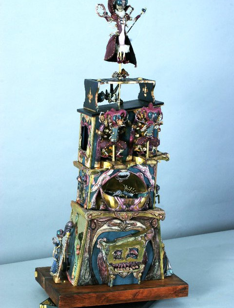 Fort Libellula Automaton Mechanical toy sculpture/ music box