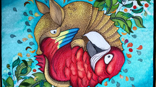 Exquisite Corpse 0.2: Parrot VS Armadillo