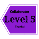 Level 5 Collaboration. Click to see perks!