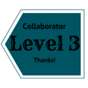 Level 3 collaboration. Click to see perks!