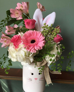 Everyone needs a bunny arrangement. Call to order yours today. They are super cute and make a great