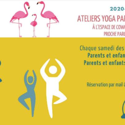 Atelier yoga parents et enfants 7 à 11 ans