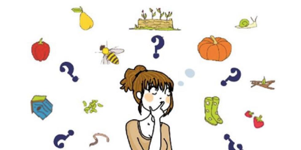 Atelier : Comment bien débuter un potager au naturel ?